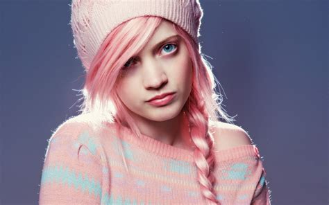 Dress Model Style Pink Blue Brown Impor beautiful pink hair fashion style 6930921
