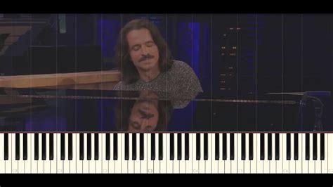 tutorial piano yanni until the last moment yanni until the last moment piano tutorial youtube