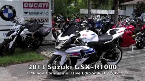 2013 Suzuki Gsxr 1000 Commemorative Edition Pre Owned 2013 Suzuki Gsx R1000 1 Million Commemorative