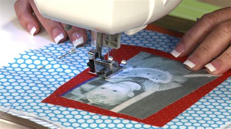 Sewing Patterns For Home Decor Using Photo Transfer And Scrap Fabric To Make A Wall Hanging