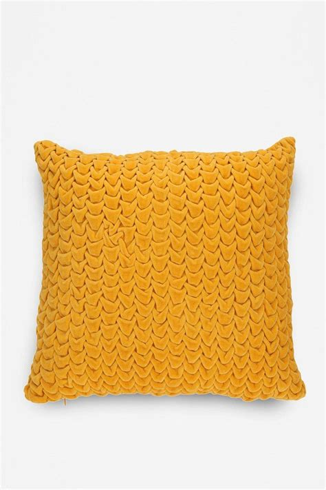 Outfitters Pillows by Magical Thinking Quilted Velvet Pillow