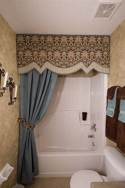 shower curtain topper 25 best ideas about shower curtain valances on pinterest