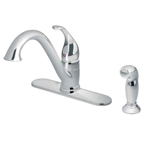 moen kitchen faucet leaking at handle moen one handle kitchen faucet repair farmlandcanada info