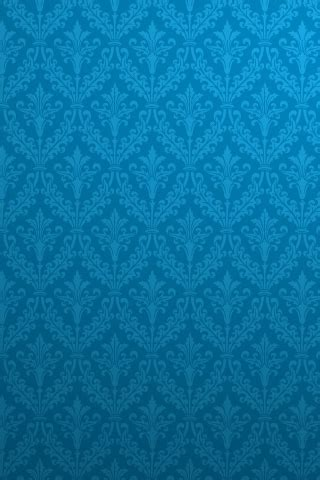 blue pattern wallpaper for iphone blue damask pattern iphone wallpaper free download