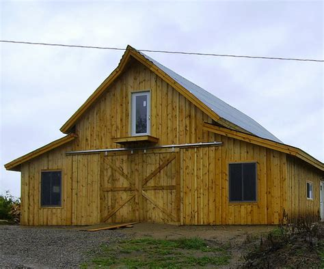 barn home plans designs a post and beam barn kit that you can build yourself