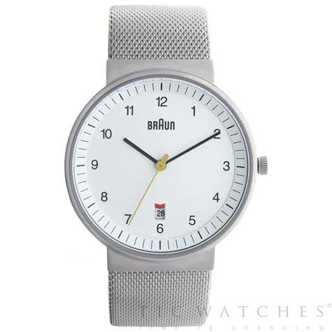 Silver Watches braun silver mesh bn0032whslmhg buy mens braun
