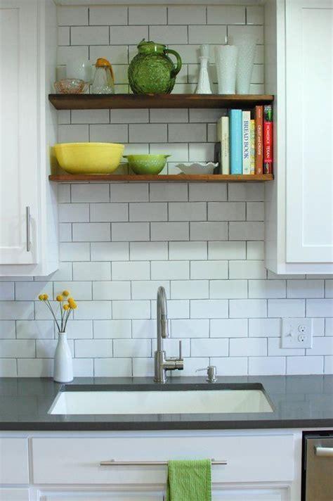 Above Kitchen Sink Shelf by 17 Best Ideas About Open Shelving On Shelves