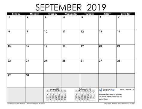 september 2019 calendar 2019 calendar templates and images