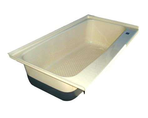 rv bathtubs for sale rv bath tub right hand drain tu600rh colonial white