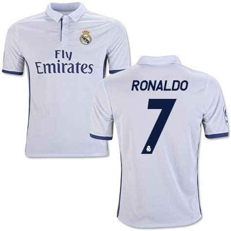 Jersey Real Madrid Home 20152016 Sleeves 1 50 interesting facts about cristiano ronaldo diagnosed