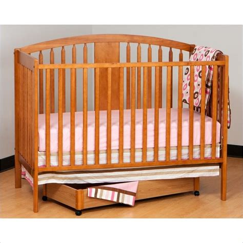 Stork Craft Hollie 4 In 1 Fixed Side Convertible Crib In Stork Craft 4 In 1 Convertible Crib