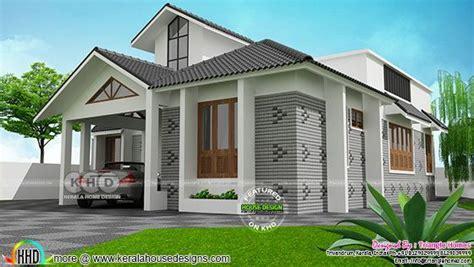 2490 sq ft sloped roof single floor home design veeduonline single floor sloping roof style 1800 sq ft kerala home