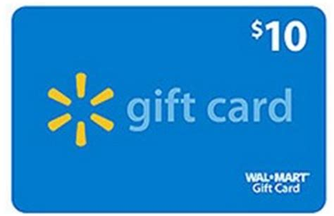 Hot Topic Gift Card Walmart - hot free 10 walmart gift card