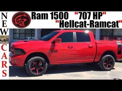 Ram Truck Hellcat by New Ram 1500 Truck Hellcat Powered 707 Hp Ramcat