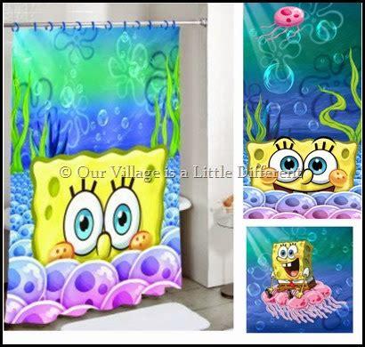 spongebob bathroom accessories our village is a little different spongebob squarepants