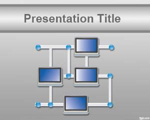 network templates for powerpoint free download free computer powerpoint templates