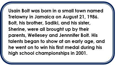biography of usain bolt ks2 who is a good person to write a biography on report574