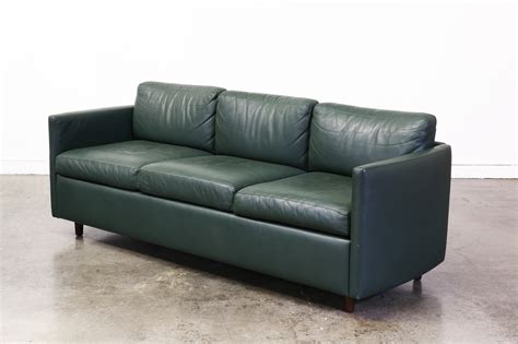 teal couch vintage teal green leather sofa vintage supply store