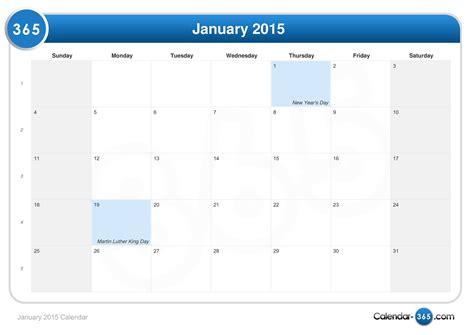 Kalender 2015 Januar January 2015 Calendar