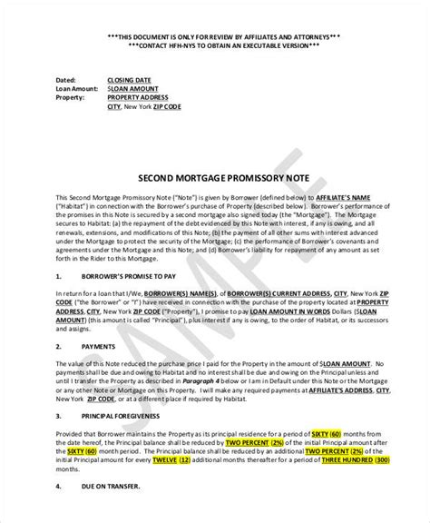 Mortgage Promise Letter 31 Free Note Exles Sles