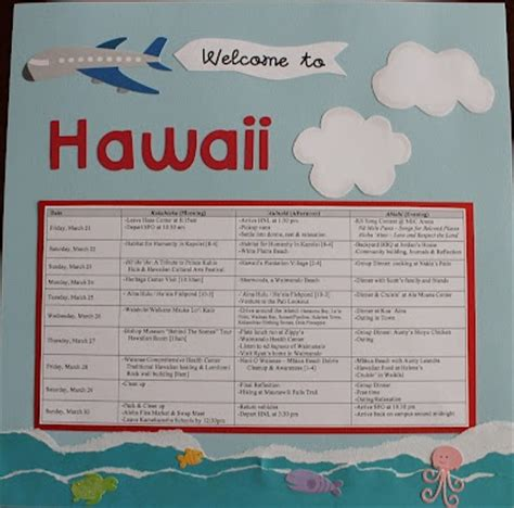 341 Best Images About Travel Itinerary Template On Pinterest Hawaii Vacation Itinerary Template