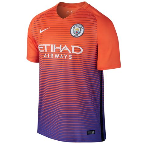 Jersey Manchester City 3rd 201516 nike youth manchester city third 16 17 soccer stadium jersey safety orange violet