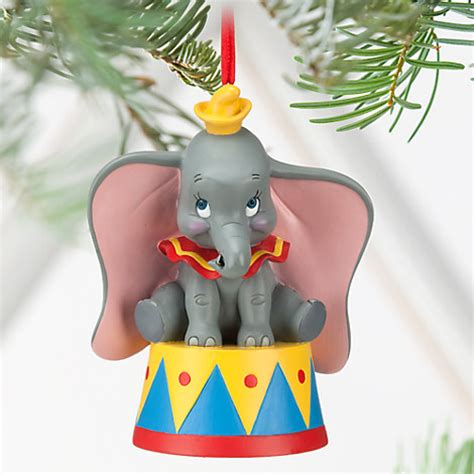 disney exclusive baby dumbo circus free standing ornament
