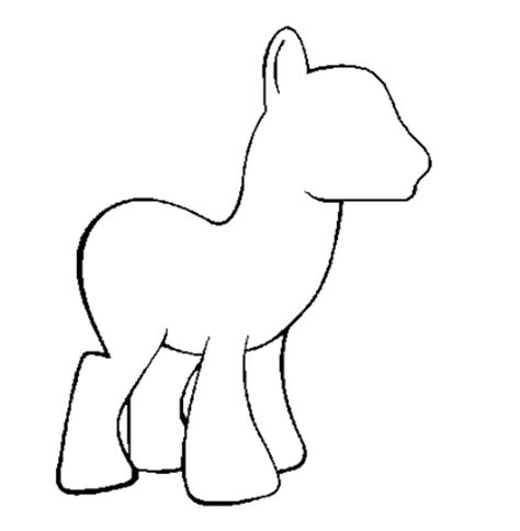 my pony template pony template colt base by mretsam on deviantart