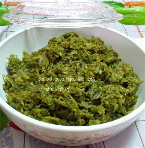 cute mama delicacies sambal lada hijau padang