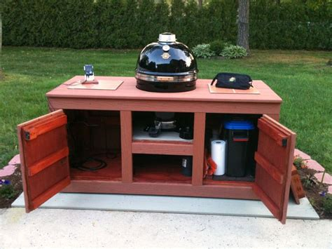 weber grill cart diy woodworking projects plans
