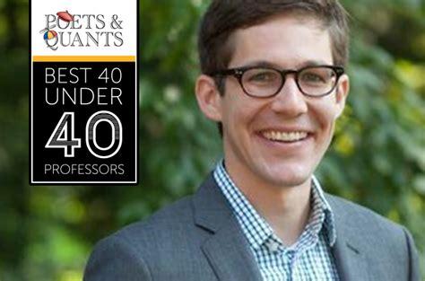 Tuck School Of Business Mba Linkedin by 2017 Best 40 40 Professors Daniel Feiler Dartmouth