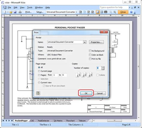 save visio as pdf convert visio to jpeg universal document converter