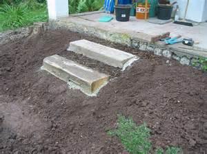 treppe anlegen treppe bg naturgarten