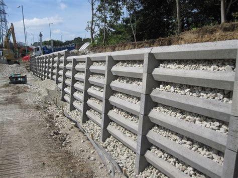 Concrete Crib Retaining Walls by Andacrib Concrete Crib Retaining Wall System Phi