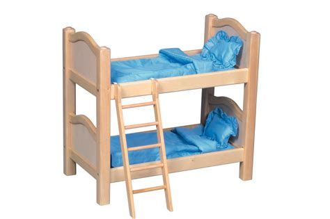 bunk beds for dolls doll bunk bed by guidecraft in dollhouses