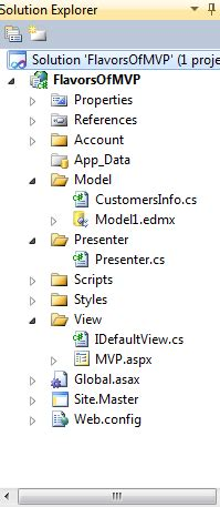 mvp pattern asp net exle asp net mvp design pattern simple net gene