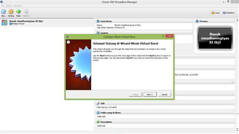 membuat web melalui xp cara menginstal windows xp melalui virtualbox fharahrima