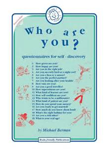image gallery self discovery worksheets