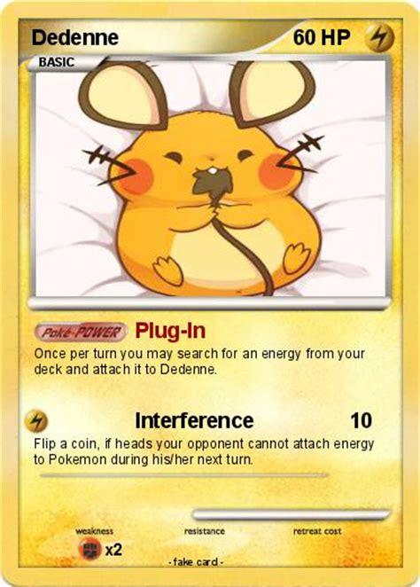 Cards Dedenne pok 233 mon dedenne in my card