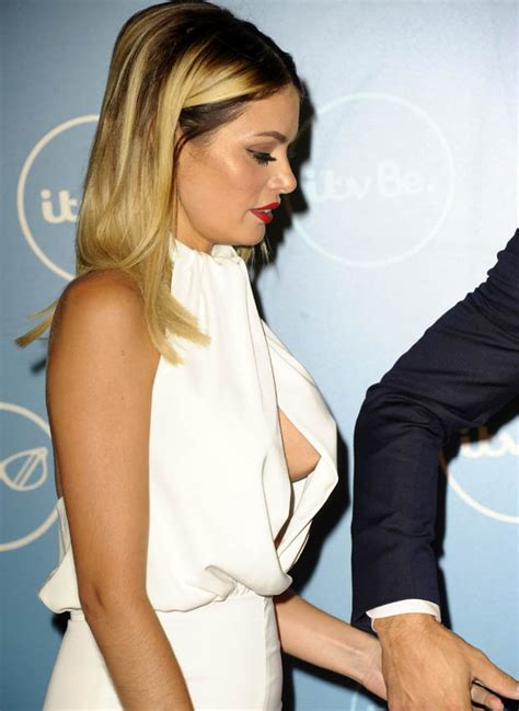 Peak Of Chic by Towie S Chloe Sims Spills Sideboob From Jumpsuit At Itvbe