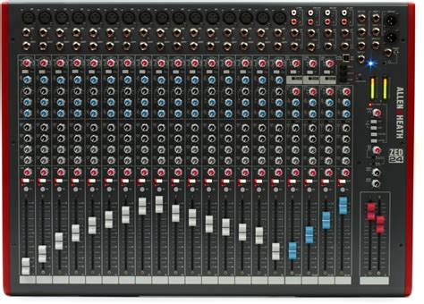 Mixer Allen Heath Terbaru allen heath zed 24 mixer with usb sweetwater