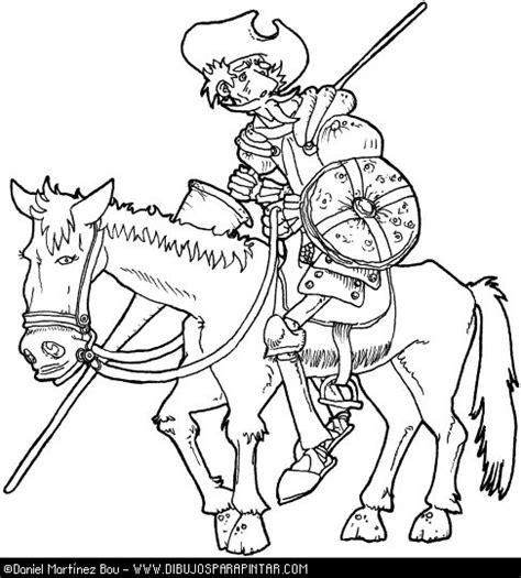 dibujos infantiles para colorear don quijote dibujos para colorear de don quijote cervantes don