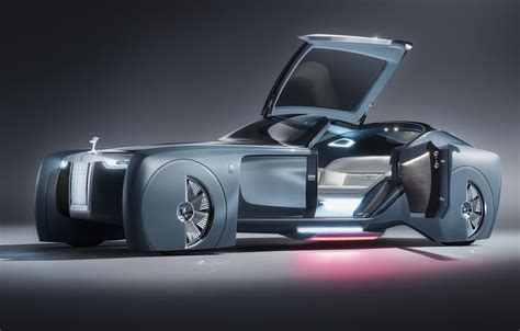 roll royce night rolls royce vision next 100 concept revealed