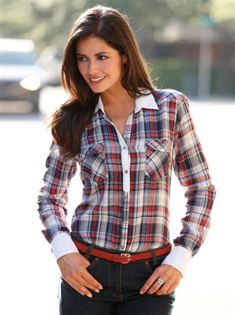 imagenes de blusas vaqueras im 225 genes de camisas de mujer im 225 genes