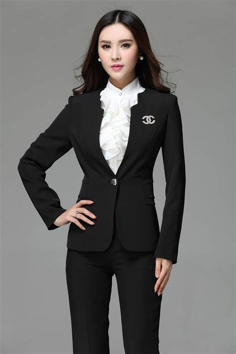 female working suits 2015 2018 2015 formal blazer and pant set women business suits