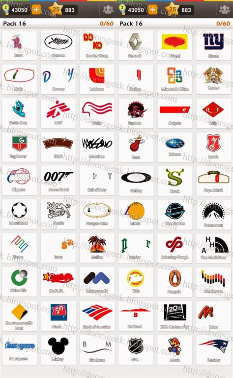 facebook logo game answers pack 5 image gallery logo answers pack 16