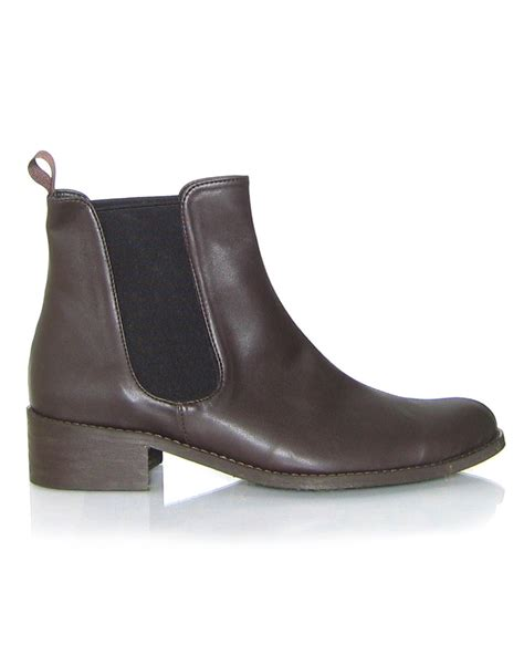 vegan chelsea flat ankle boots shoes