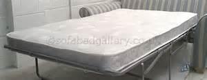 Sofa Bed Mattress Replacement Uk Replacement Luxury Sprung Sofa Bed Mattress 115cm New Sofabed Gallery Ebay