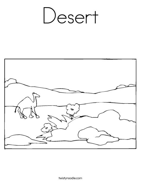 desert coloring pages for kids az coloring pages desert coloring page twisty noodle
