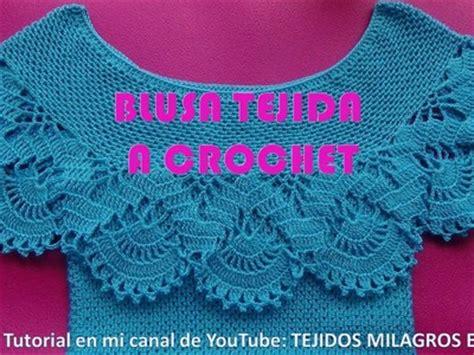 Blusa Tejida A Crochet Para Verano Parte 1 De 2 | el paso a paso de cartucheras y mochilas etapa escolar